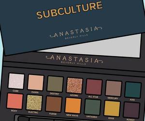 anastasia, make up, and sombras image