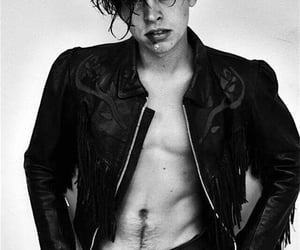 cole sprouse, Hot, and black and white image