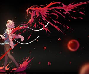 kyoukai no kanata, anime, and anime girl image