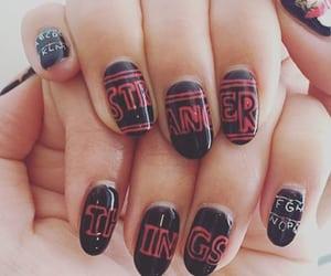 nails and stranger things image