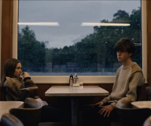 alex lawther, Alyssa, and james image