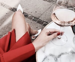 chic, drink, and fashion image
