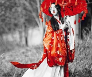 asian, geisha, and japanese image