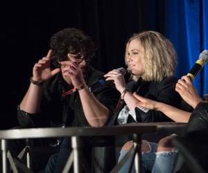 the 100, bob morley, and bellarke image