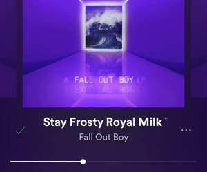 fall out boy and mania image