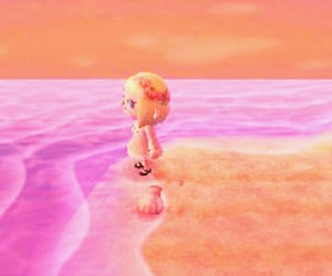 animal crossing and pink image