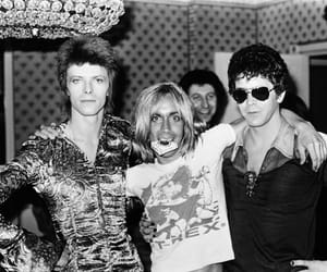 iggy pop, david bowie, and lou reed image
