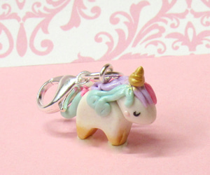baby animal, magical, and polymer clay image