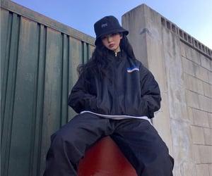 fashion, grunge, and kfashion image