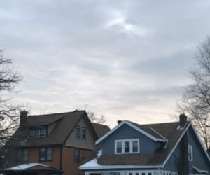 calm, cloudy, and winter image