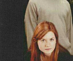 harry potter, hinny, and wallpaper couples image