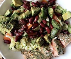 avocado, bowl, and eat image