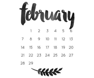 february and month image