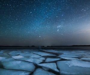 stars, ice, and sky image
