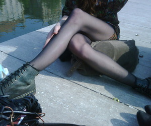 boots, girl, and goth image