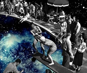 60ies, Collage, and Dream image