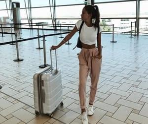 travel, girl, and fashion image