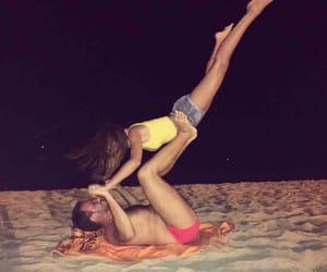 acrobatic, boyfriend, and couple image