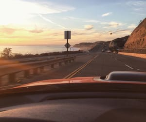 car, view, and road image