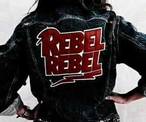 fashion, rebel, and denim image