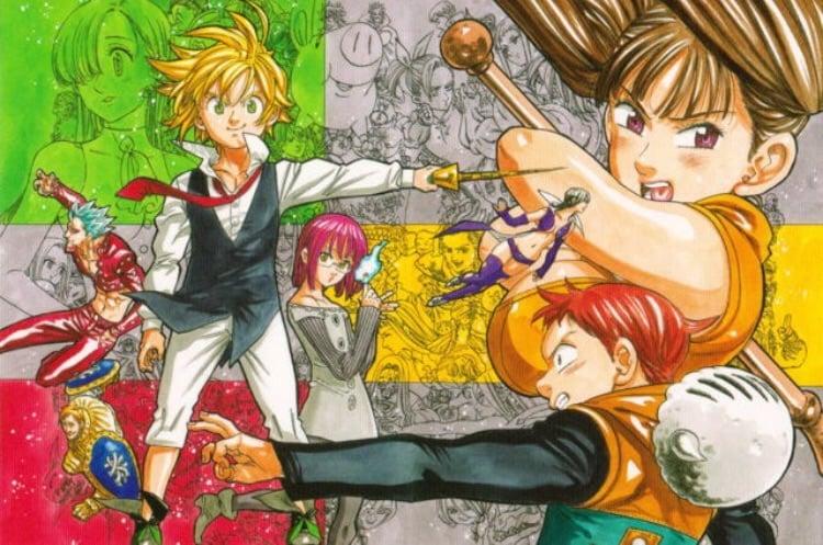 seven deadly sins and nanatsu no taizai image