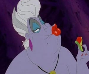 disney, ursula, and the little mermaid image