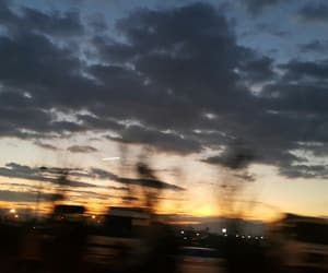 cloud, morning, and sun image