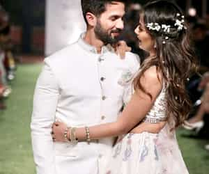 bollywood, shahid kapoor, and couple's love image