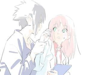 naruto, sakura, and sasuke image
