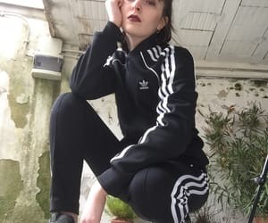 adidas, face, and girl image