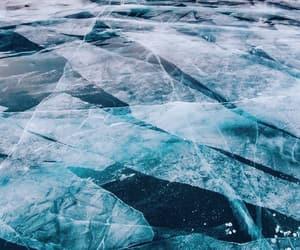 ice, lake, and nature image