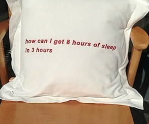 sleep, pillow, and quotes image