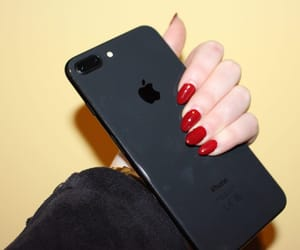 black, inlove, and nails image