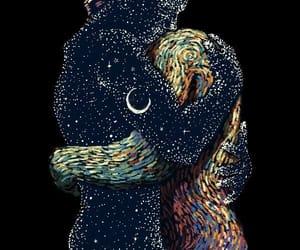 love, art, and stars image