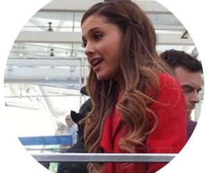 ariana grande, icon, and red image