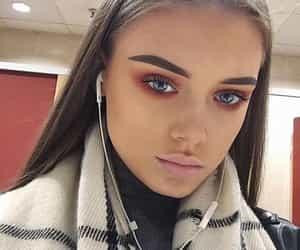 eye makeup, hair, and model image