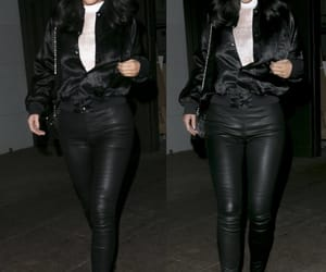casual, classy, and leather pants image
