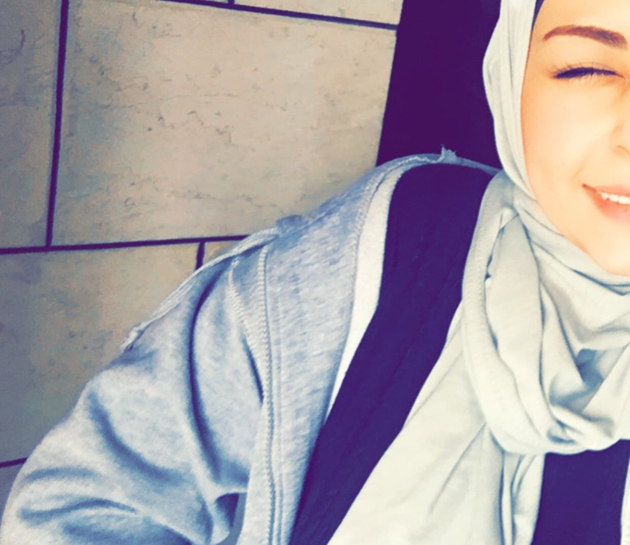 girl, hijab, and حجاب image