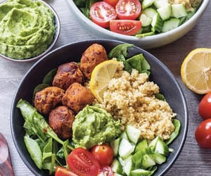 healthy, salad, and vegan image