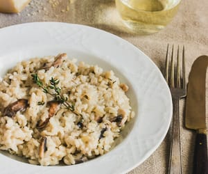 food, rice, and risotto image