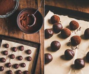caramel, chocolate, and food image