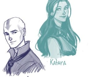 avatar, aang, and katara image