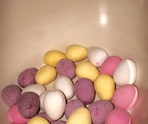 chocolate, colors, and easter image