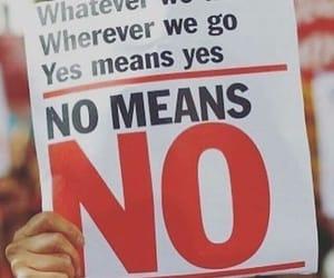 no means no image