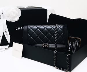black, chanel, and chic image