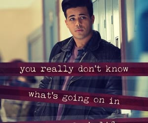 13 reasons why, tony, and quotes image
