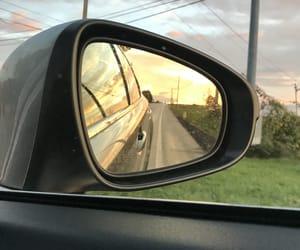 car, hi, and road image