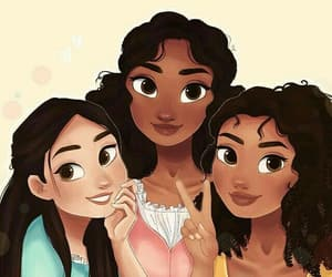 angelica, Eliza, and hamilton image