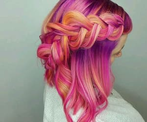beautifull, color, and hair image