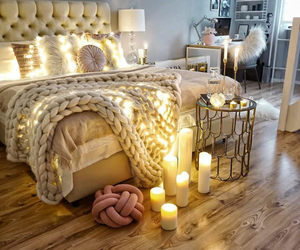 home, bedroom, and candle image